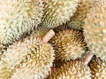 Högen av durianen Royaltyfria Bilder
