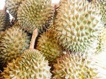 Högen av durianen Royaltyfri Fotografi