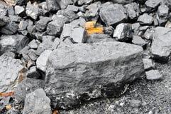 Förråd av kol royaltyfri bild