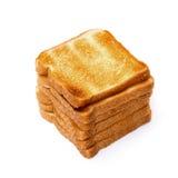 Högen släntrar rostade bröd Royaltyfri Fotografi