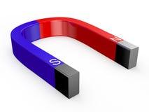 Höger magnet - stock illustrationer
