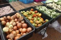 Höggrönsak för försäljning Arkivbild