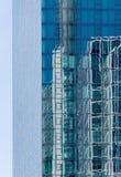 Höghusbyggnad-exponeringsglas och metall Frankfurt - f.m. - huvudsaklig Tyskland fotografering för bildbyråer