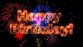 Högkvalitativ animering för lycklig födelsedag 4K lager videofilmer