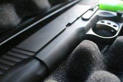 Högkvalitativ handeldvapen för automatisk för ` s 45 för slagman Arkivbilder