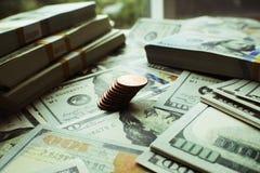 Högkvalitativt foto för pengarmateriel Arkivfoto