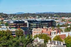 Högkvarter av Bendigoen och Adelaide Bank Ltd i Bendigo Australien royaltyfri bild