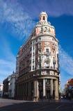 Högkvarter av den Banco den Valencia i Calle las Barcas royaltyfri fotografi