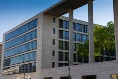 Högkvarter av den federala Foreign Office Tyskland royaltyfri bild