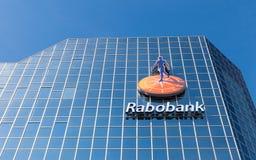 Högkvarter av den holländska banken Royaltyfria Bilder