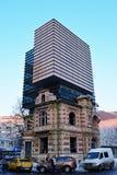 Högkvarter av unionen av rumänska arkitekter Arkivbilder