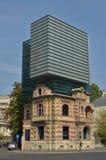 Högkvarter av unionen av rumänska arkitekter Fotografering för Bildbyråer