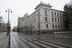 Högkvarter för gamla KGB Royaltyfri Foto