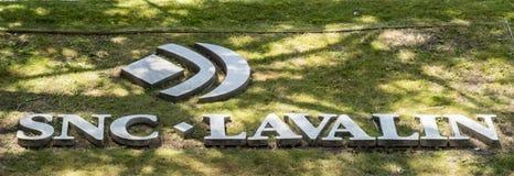 Högkvarter för SNC Lavalin royaltyfria bilder