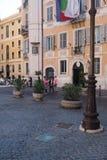 Högkvarteret av handelskammaren i Rome royaltyfri bild