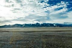 Höglands- landskap Arkivfoto
