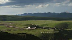 höglands- liggande Arkivbild