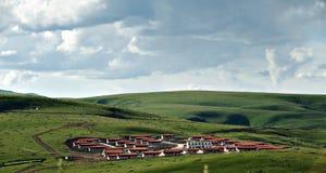 höglands- liggande Fotografering för Bildbyråer