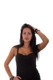 Högmodig flicka Fotografering för Bildbyråer