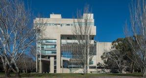 Högre domstol av Australien i Canberra Arkivbild