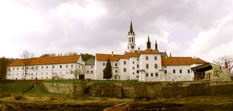 högre klostermuseum för brod Arkivbild