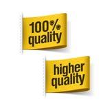 högre 100% - kvalitets- produkt Arkivbilder