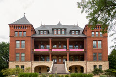 Högskola av humaniora och vetenskaper på den Iowa delstatsuniversitetet Royaltyfri Fotografi