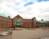 högskolaborggård Arkivbild