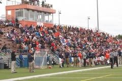 Högskolafotboll Royaltyfria Bilder