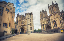 Högskolafyrkant, Bristol Arkivbilder