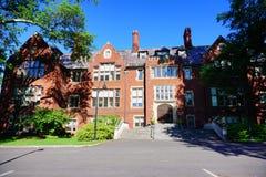 Högskolauniversitetsområde för Mt som Holyoke buidling Arkivfoto