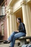 högskolestudent arkivbilder