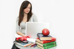 högskolestudent Royaltyfria Foton