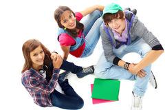 Högskolestudenter Arkivbilder