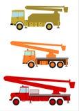 Högstämd arbetsplattform. stock illustrationer