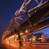 högstämd strukturspårvagn Fotografering för Bildbyråer