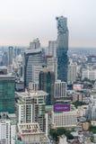 Högst byggnad för MahaNakhon - Bangkok ` s Fotografering för Bildbyråer