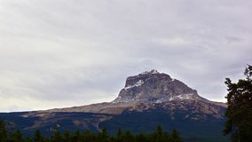 Högsta berg, Nord-sida Arkivfoto