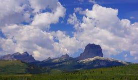 Högsta berg, på en sommardag Royaltyfria Foton