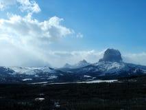 Högsta berg, vinter Royaltyfri Fotografi