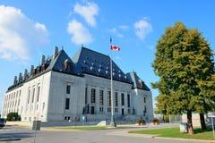 Högsta domstolen av Kanada Royaltyfria Foton