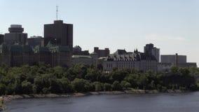 Högsta domstolen av Kanada byggnad stock video