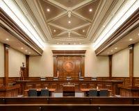 Högsta domstolen av South Carolina Royaltyfria Bilder
