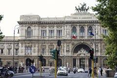 Högsta domstolen Italien Arkivfoto