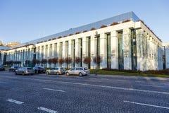 Högsta domstolenbyggnad i Warszawa Royaltyfria Bilder