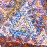 Högt abstrakt Linier Fractal Royaltyfri Foto