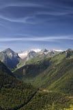 högt berg Fotografering för Bildbyråer