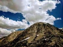 högt berg Arkivbilder