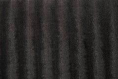 Högt detaljerad textur av den svarta velourtorkduken med djur hud p Royaltyfri Foto