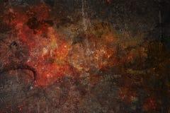 Högt detaljerad textur för Grungemetallbakgrund Royaltyfri Bild